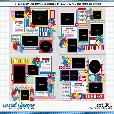 Cindy's Layered Templates - Set 261 by Cindy Schneider