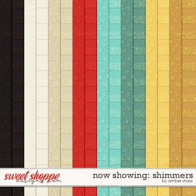Now Showing: Shimmers by Amber Shaw