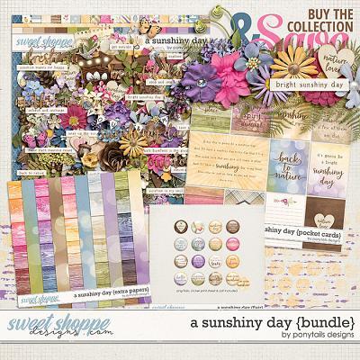 A Sunshiny Day Bundle by Ponytails
