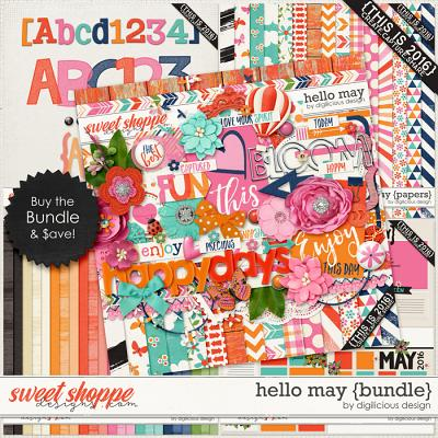Hello May {Bundle} by Digilicious Design