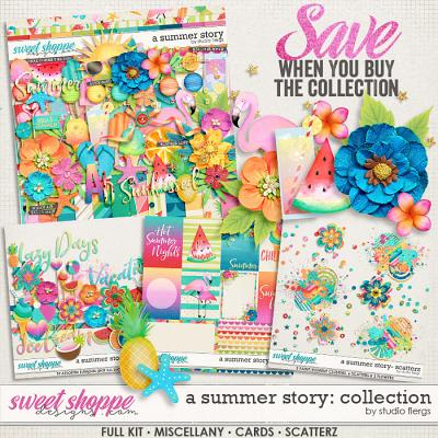 A Summer Story: COLLECTION & *FWP* by Studio Flergs