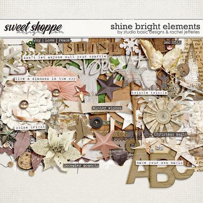 Shine Bright Elements by by Studio Basic Designs & Rachel Jefferies