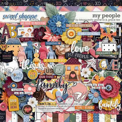 My People by Blagovesta Gosheva and Grace Lee