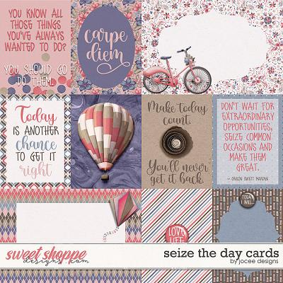Seize the Day Cards by JoCee Designs