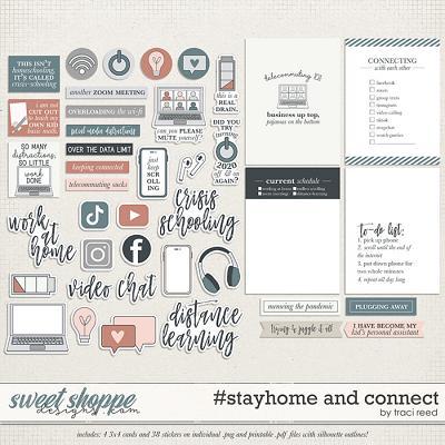 #stayhome and Connect by Traci Reed