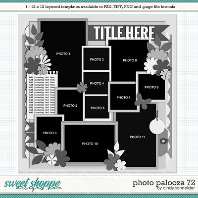 Cindy's Layered Templates - Photo Palooza 72 by Cindy Schneider