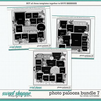 Cindy's Layered Templates - Photo Palooza Bundle 7 by Cindy Schneider