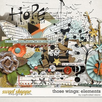 Those Wings: Elements by Captivated Visions
