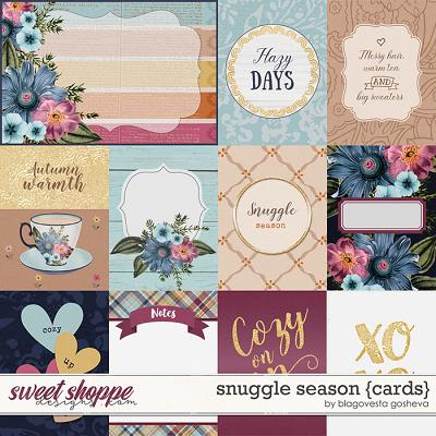 Snuggle season {cards} by Blagovesta Gosheva