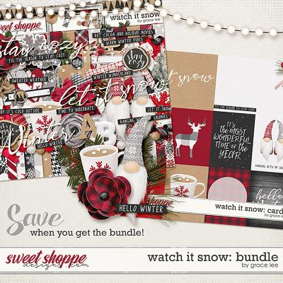 Watch It Snow: Bundle by Grace Lee