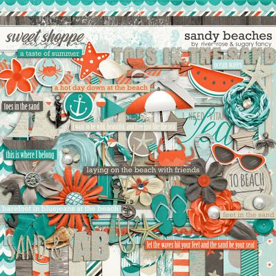Sandy Beaches by River Rose and Sugary Fancy