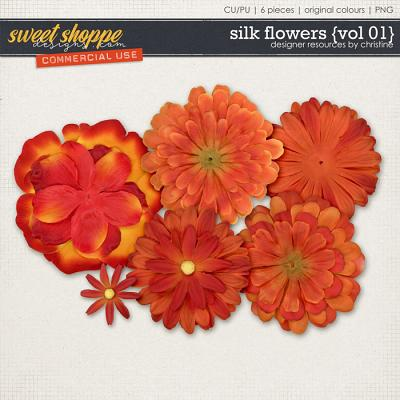 Silk Flowers {Vol 01} by Christine Mortimer