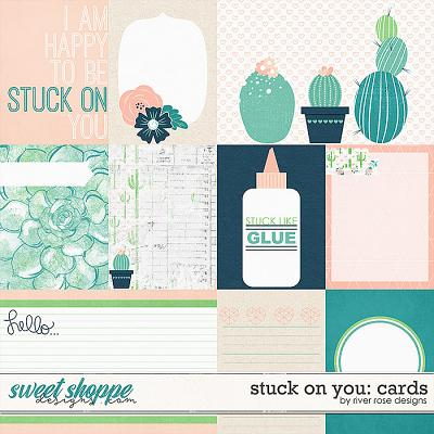 Stuck on You Cards by River Rose Designs