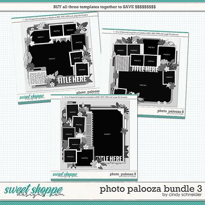 Cindy's Layered Templates - Photo Palooza Bundle 3 by Cindy Schneider