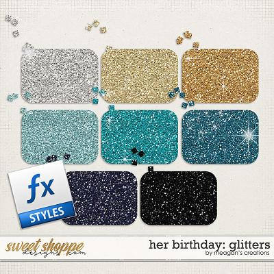 Her Birthday: Glitters by Meagan's Creations