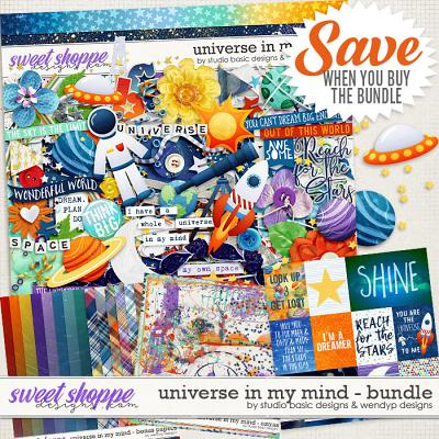 Universe In My Mind Bundle by Studio Basic & WendyP Designs