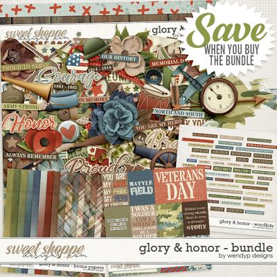 Glory & Honor - Bundle & *FWP* by WendyP Designs