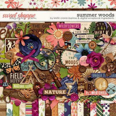 Summer Woods by Kristin Cronin-Barrow and Digital Scrapbook Ingredients