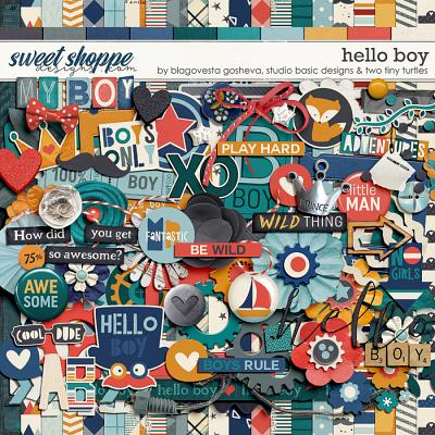 Hello Boy by Blagovesta Gosheva, Studio Basic and Two Tiny Turtles