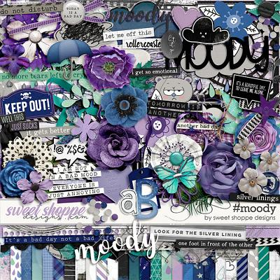 *FREE with your $20 Purchase* #Moody by Sweet Shoppe Designs