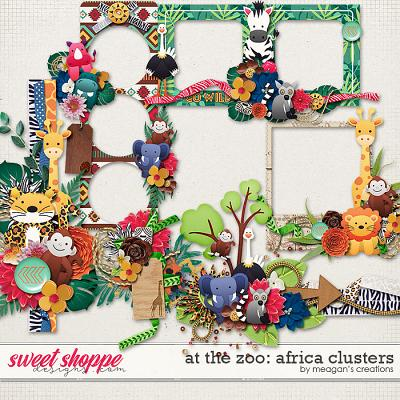 At the Zoo: Africa Clusters by Meagan's Creations