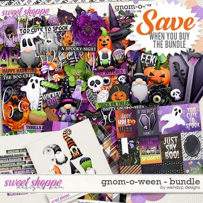 Gnom-o-ween - Bundle by WendyP Designs