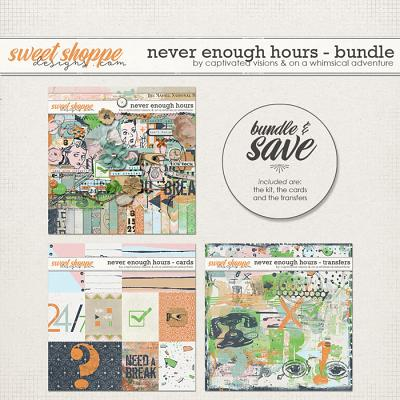Never enough hours: bundle  by Captivated Visions & On A Whimsical Adventure