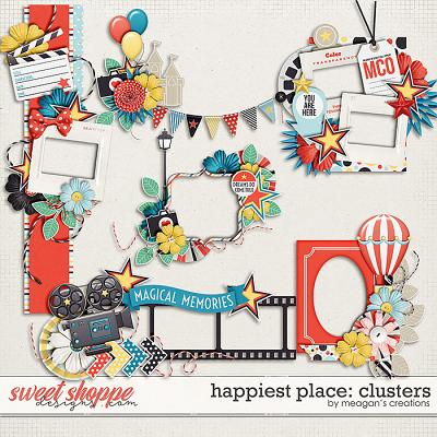 Happiest Place : Clusters by Meagan's Creations