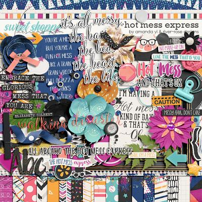 Hot Mess Express Kit by Amanda Yi & River Rose Designs