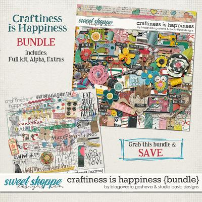Craftiness Is Happiness Bundle Blagovesta Gosheva and Studio Basic