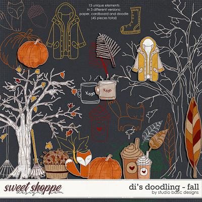 Di's Doodling - Fall by Studio Basic