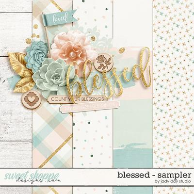 Blessed - Sampler by Jady Day Studio