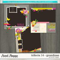 Brook's Templates - Trifecta 14 - Grandiose by Brook Magee