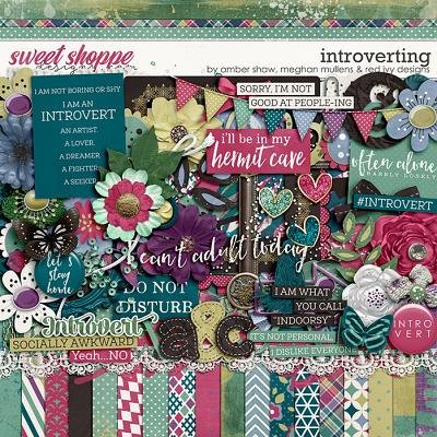 Introverting by Amber Shaw, Meghan Mullens, & Red Ivy Design