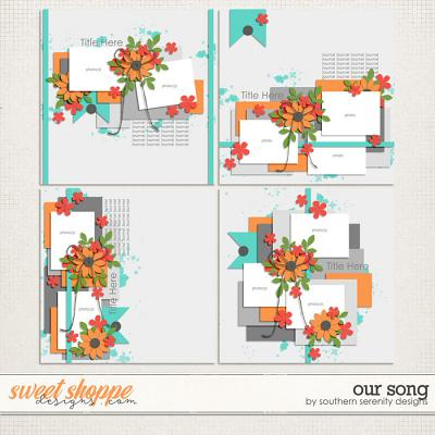 Our Song Layered Templates by Southern Serenity Designs