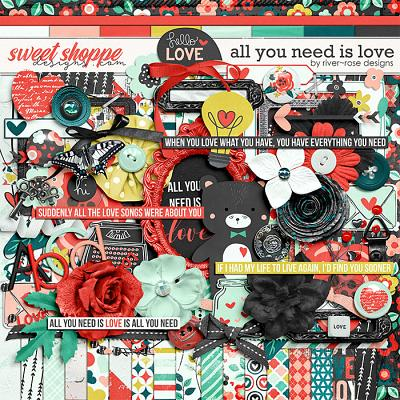All You Need Is Love by River Rose Designs