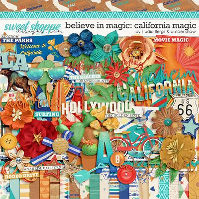 Believe in Magic:  California Magic by Amber Shaw & Studio Flergs