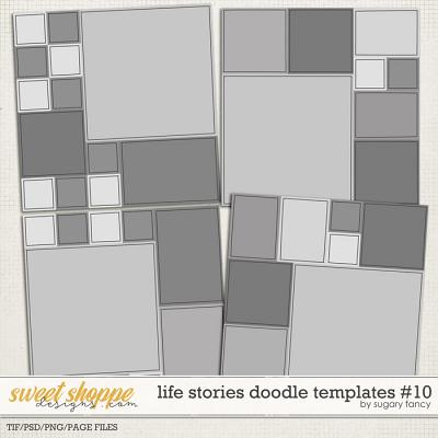 Life Stories Doodle Templates #10 by Sugary Fancy