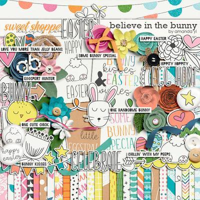 Believe in the bunny by Amanda Yi