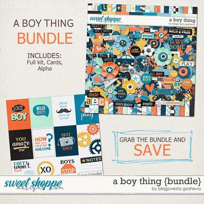 A boy thing {bundle} by Blagovesta Gosheva