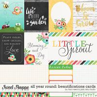 All Year Round: Beautifications Cards by Jady Day Studio and Traci Reed
