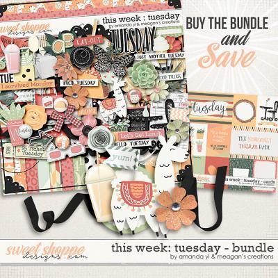 This Week: Tuesday - Bundle by Amanda Yi & Meagan's Creations