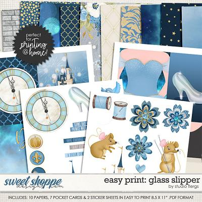 Easy Print: GLASS SLIPPER by Studio Flergs