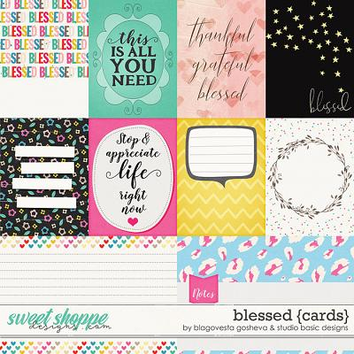 Blessed Cards by Blagovesta Gosheva and Studio Basic