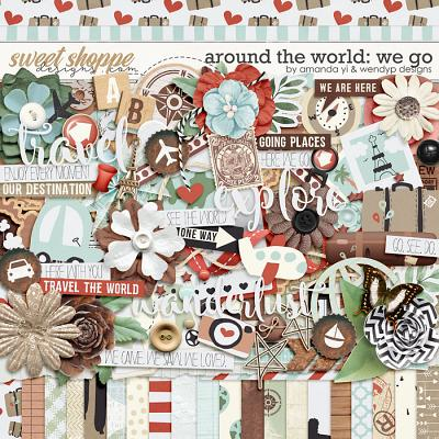 Around the world: We Go by Amanda Yi & WendyP Designs