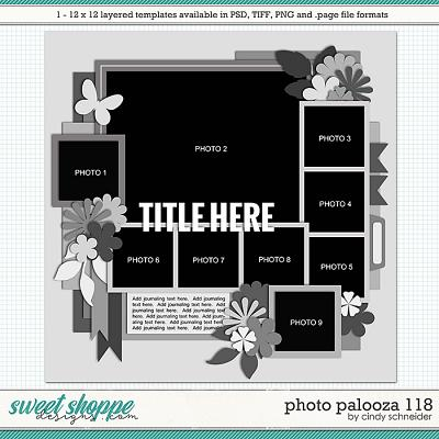 Cindy's Layered Templates - Photo Palooza 118 by Cindy Schneider