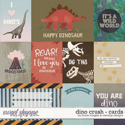 Dino Crush - Cards by Brook Magee & WendyP Designs