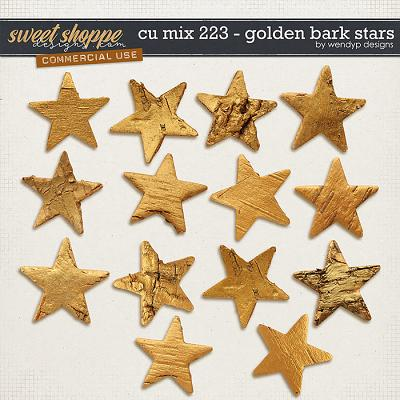 CU Mix 223 - golden bark stars
