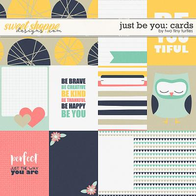 Just Be You: Cards by Two Tiny Turtles