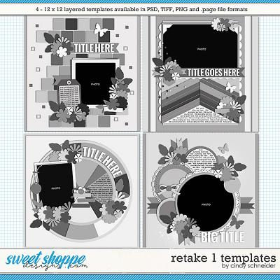 Cindy's Layered Templates - Retake One by Cindy Schneider